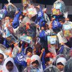 Berbagi Ceria di Hari Pertama Sekolah