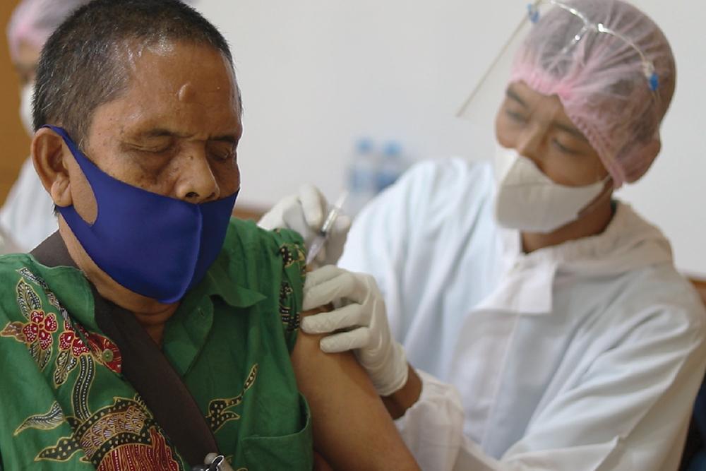 Vaksinasi AstraZeneca ke-2